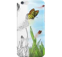 Dreams and Nightmares- Dissolving Butterflies iPhone Case/Skin