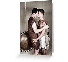 LOA - Alexander & Hephastion Greeting Card