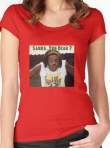 Sanka Yuh Dead? Cool Runnings Women's Fitted Scoop T-Shirt