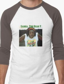 Sanka Yuh Dead? Cool Runnings Men's Baseball ¾ T-Shirt