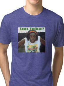 Sanka Yuh Dead? Cool Runnings Tri-blend T-Shirt