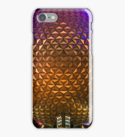 """On This.....Our Spaceship Earth"" - Epcot iPhone Case/Skin"