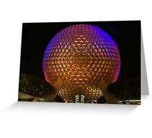 """On This.....Our Spaceship Earth"" - Epcot Greeting Card"