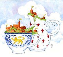 Kingdoms of Tea by redgoldsparks
