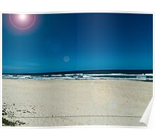 Beach Scene 1 Poster