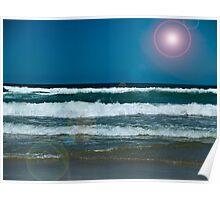 Beach Scene 2 Poster