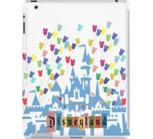 Vintage Disneyland Castle and Balloons iPad Case/Skin