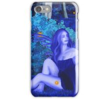 Dreams and Nightmares- Blue Faery iPhone Case/Skin