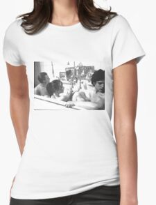 dreamers tea Womens Fitted T-Shirt