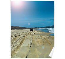 Beach Scene 3 Poster