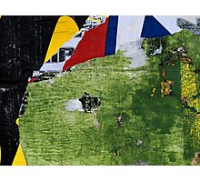 found collage RB20 Photographic Print
