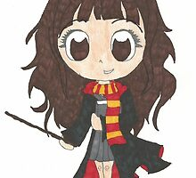Chibi Hermione Granger by Glasses23