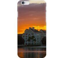 Disney's Yacht Club Resort at Sunset iPhone Case/Skin