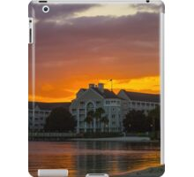 Disney's Yacht Club Resort at Sunset iPad Case/Skin