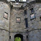 Falkland Palace entrance, Scotland by BronReid