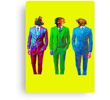 Monkey Suits Canvas Print