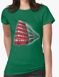 double decker bus Womens Fitted T-Shirt