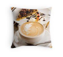 Kiwi Coffee American Pie Throw Pillow