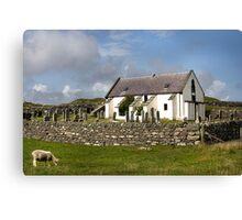 Lunna Kirk, Shetland Canvas Print
