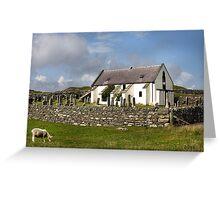 Lunna Kirk, Shetland Greeting Card