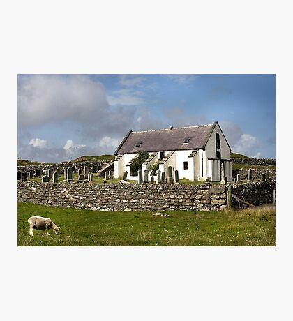 Lunna Kirk, Shetland Photographic Print