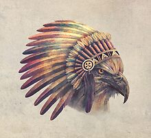 Eagle Chief by Terry  Fan