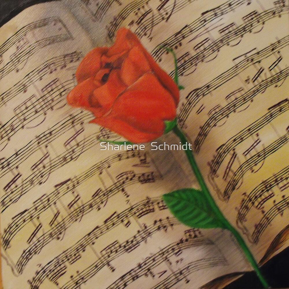 Poets Heart by Sharlene  Schmidt