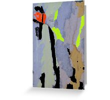 found collage RB42 Greeting Card