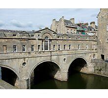Bridge in Bath Photographic Print