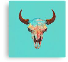 Turquoise Sky Canvas Print