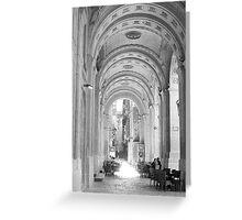 Valetta Arches Greeting Card