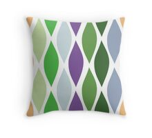 IMPRESSIONIST WAVES Throw Pillow
