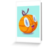 Happy Brooklyn Basketball Greeting Card