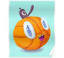 Happy Brooklyn Basketball Poster