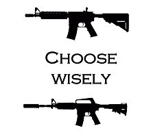 Choose your gun wisely by tloaf
