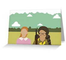 Moonrise Kingdom - Wes Anderson  Greeting Card