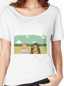 Moonrise Kingdom - Wes Anderson  Women's Relaxed Fit T-Shirt