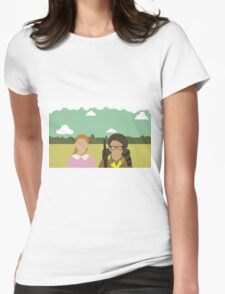Moonrise Kingdom - Wes Anderson  Womens Fitted T-Shirt