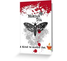 Moriar Tea 1 Greeting Card