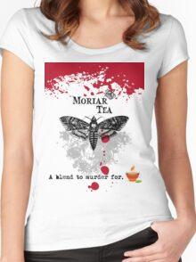 Moriar Tea 1 Women's Fitted Scoop T-Shirt