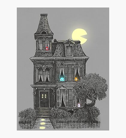 Haunted by the 80's  Photographic Print