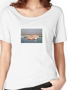 tranquil boats Women's Relaxed Fit T-Shirt