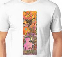 Lady of HOPE - A Breast Cancer Donation Unisex T-Shirt