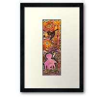Lady of HOPE - A Breast Cancer Donation Framed Print