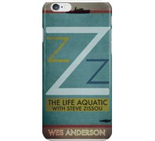 The Life Aquatic With Steve Zissou - Wes Anderson  iPhone Case/Skin