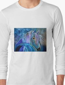 COBALT FURY Long Sleeve T-Shirt