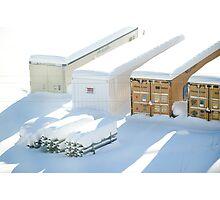 snowstorm sunday1 Photographic Print