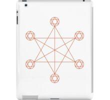 Enlightenment Orange iPad Case/Skin