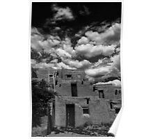 Taos Pueblo, NM Poster
