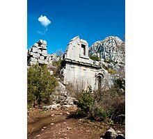 High altitude ruins II Photographic Print